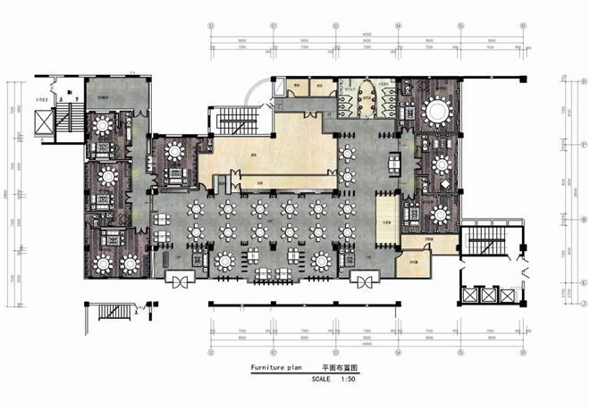 夜宴食府-李舟的设计师家园-新中式,中餐厅/中餐馆