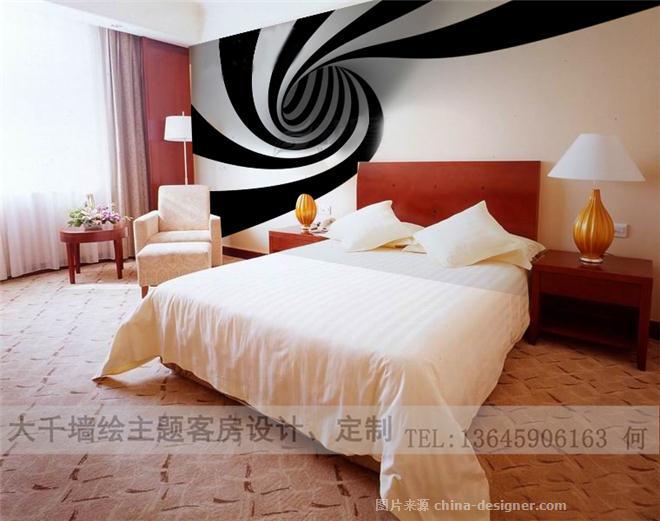 主题客房平面创意900-何少哲的设计师家园-家庭旅馆