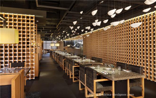 烧肉达人-利旭恒的设计师家园-烧烤店,新中式,其他气氛,简约大气,沉稳庄重,闲静轻松,其他颜色,黄色,灰色,白色