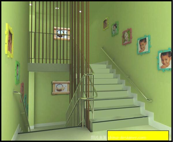 1500平三层的幼儿园的装修案例!