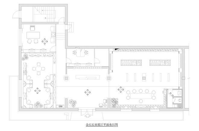 金石石业展厅-康拥军的设计师家园-展示空间