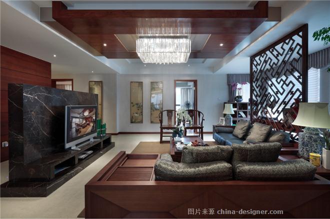 愉景湾-陶子的设计师家园-三居