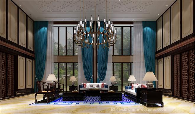 万庭嘉别墅-陶子的设计师家园-卧室,客厅,独栋别墅