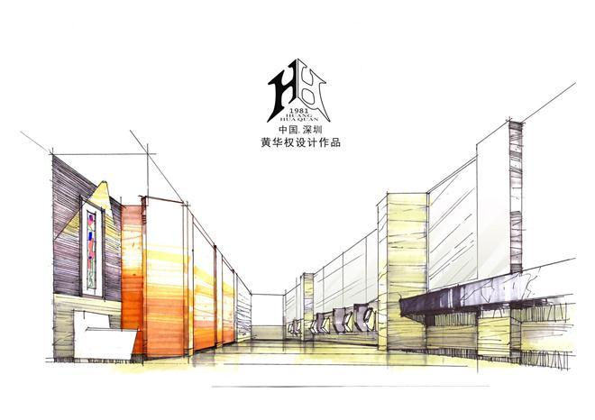 黄华权设计手绘图-黄华权的设计师家园-主题酒店