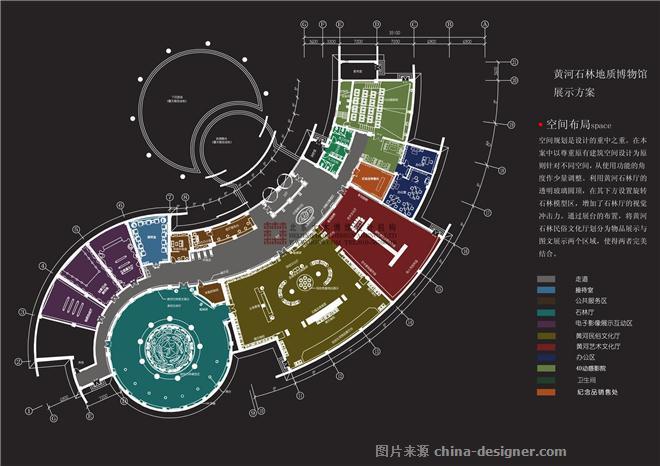 黄河石林地质博物馆-张楗波的设计师家园-博物馆