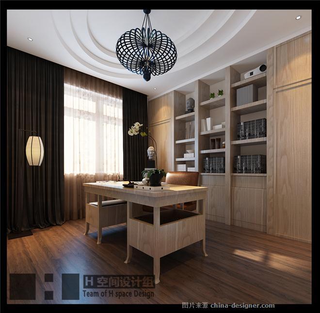 山东济南项目-低调新中式【H空间设计组】-池海江的设计师家园-H 空间 设计 组