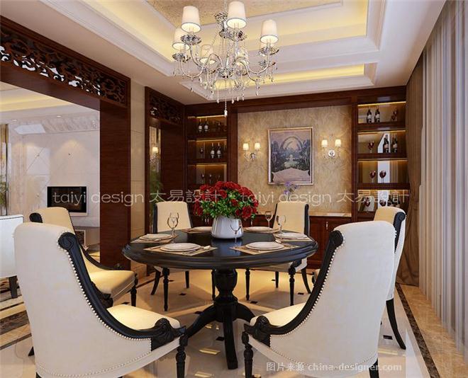 现代园墅-别墅-350平米-装修设计-伍小飞的设计师家园-独栋别墅