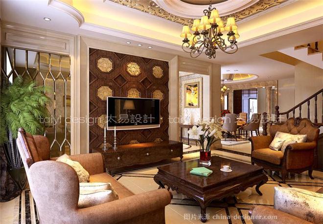 现代园墅-别墅-350平米-装修设计-伍小飞的设计师家园-半包