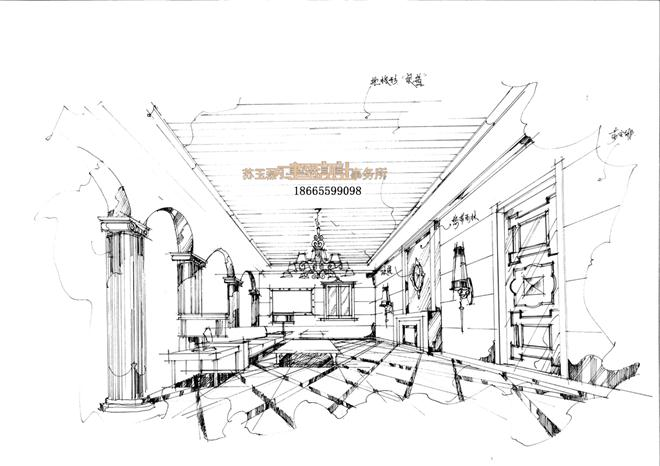 威海别墅豪宅,商业空间,私人会所设计图片