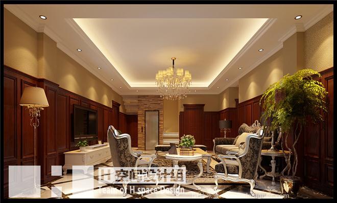 天津紫乐府新中式设计-池海江的设计师家园-现代简约