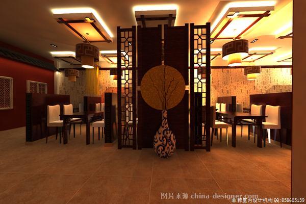 鲁菜馆-非标室内设计机构的设计师家园-中餐厅/中餐馆
