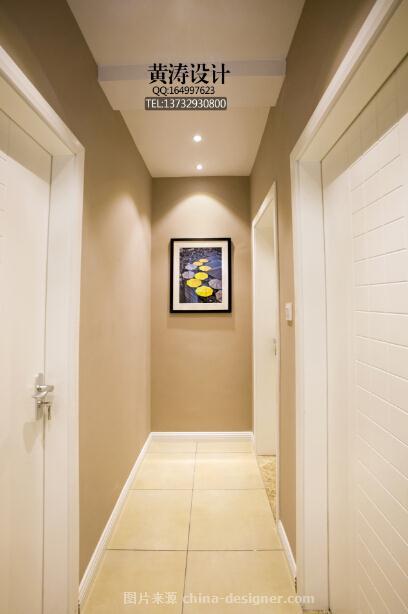《绿意盎然》-艺翔国际设计机构的设计师家园-三居,简约大气,闲静轻松,棕色,绿色,灰色,白色,现代简约,