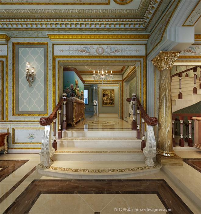 长岛花园别墅欧式古典风格设计-上海奥邦装饰设计工程有限公司的设计