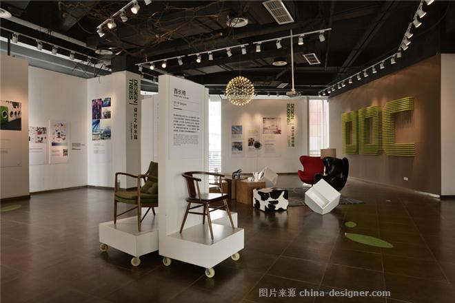 北欧知识城3g创意园展示中心-赵绯的设计师家园-现代简约,展示空间图片