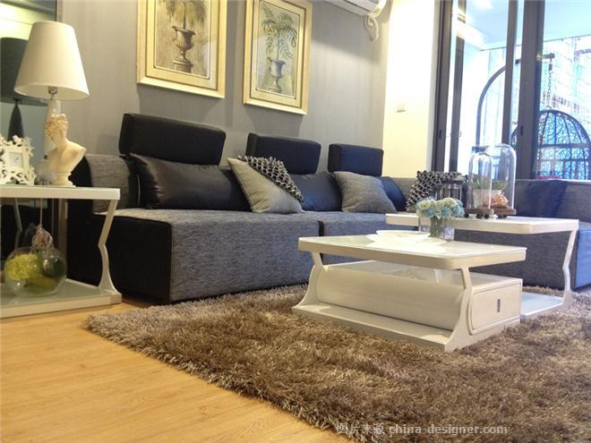 桂林彰泰小户型样板房软装配饰-彭雪峰的设计师家园-住宅公寓样板间