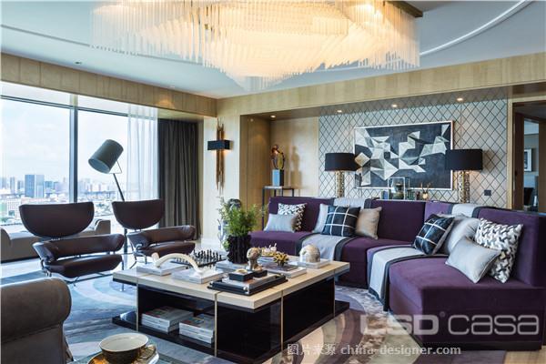 万科翡翠滨江-葛亚曦的设计师家园-LSDCASA 葛亚曦 软装设计