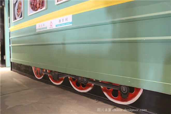 手绘3d立体火车轮 3d画