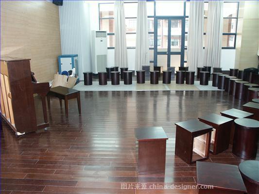 河北任丘国学堂-尹力的设计师家园-学校                                                                                                ,简约大气,闲静轻松,棕色,黑色,黄色,灰色,白色,混搭,现代简约,