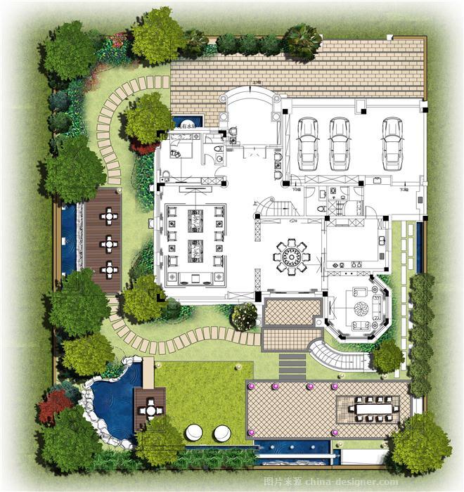 江门香港海林碧桂园别墅设计-五邑广东国际设计的设计师家园-独栋做6坡顶别墅的怎么图片