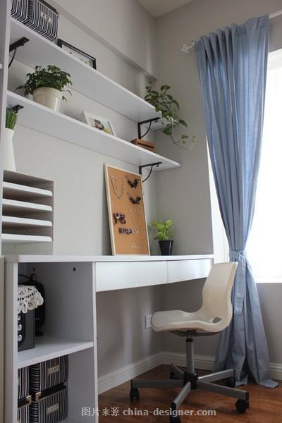 关岳路229弄-邢桂长的设计师家园-一居,现代简约,紧凑灵活,青春活力,闲静轻松,白色