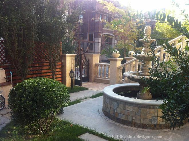 天津别墅庭院设计 保利海棠湾-王宏运的设计师家园-联排别墅