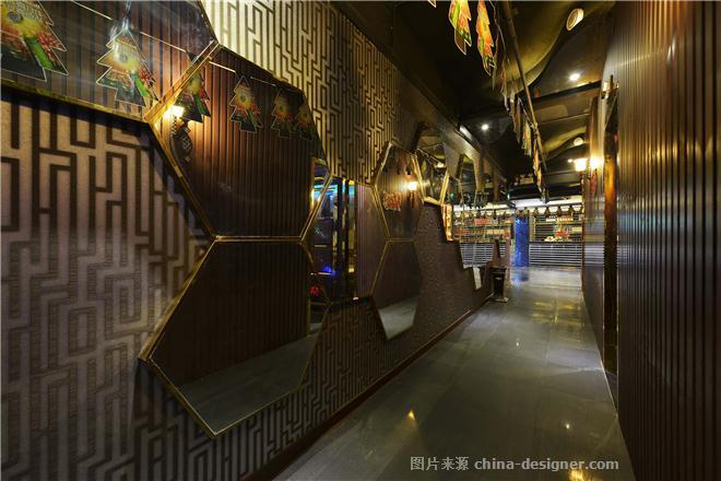 汕头CIRCLE CLUB圈子吧-吴淼昌的设计师家园-ktv,娱乐会所,科技智能,简约大气,青春活力,沉稳庄重,蓝色,棕色,黄色,红色,黑色,白色,混搭,后现代主义,现代简约,