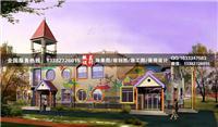 设计师家园-南通幼儿园3d外观设计效果图