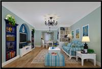 设计师家园-87平米老房改造之地中海