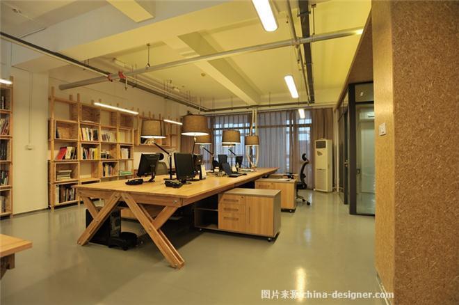 办公室案例-艾薇儿高端室内设计工作室的设计师家园-办公区,工业化图片