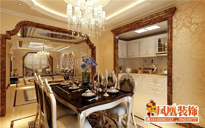 一秒凤凰装饰公司 电话:18145692123的设计师家园-古典欧式,客厅,玄关