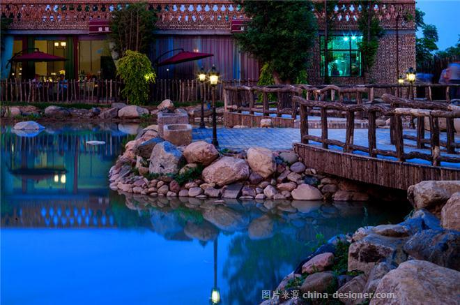 益健苑度假酒店-刘非的设计师家园-中餐厅,棕色,红色,灰色,白色,混搭,新中式,民族特色餐馆,乡村建筑