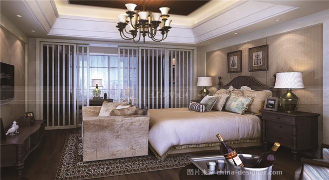 美式风格-昆承湖别墅-伍小飞的设计师家园-伍小飞高端别墅设计 美式风格