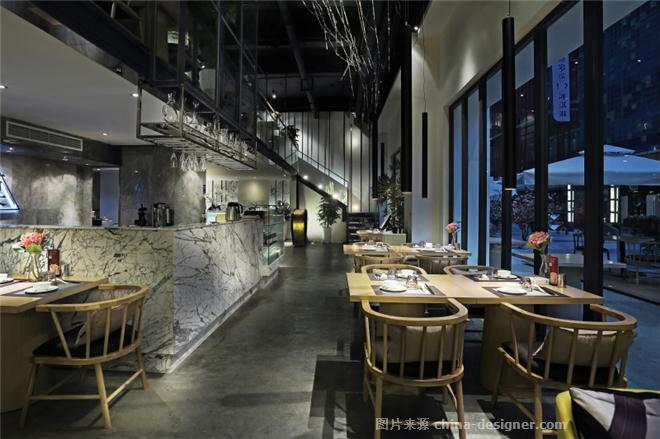 壹粟・素餐厅-廖志强的设计师家园-素食餐厅