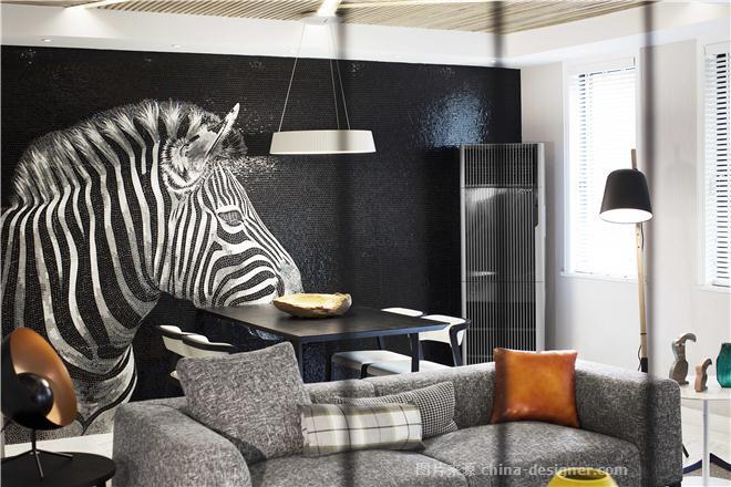 《生活&态度》-蒋沙君的设计师家园-跃层/loft,四居,紧凑灵活,简约大气,闲静轻松,黑色,棕色,红色,灰色,白色,现代简约,复式