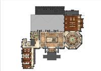 �O���家�@-智慧美�褐石建筑-美式�W院展示