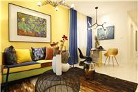 设计师家园-米兰阳光样板间-致敬梵高