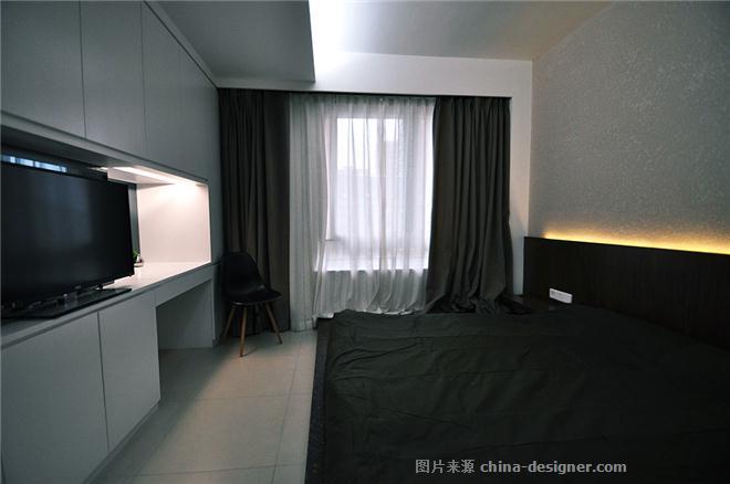 Grang city Residence-倪益新的设计师家园-三居,都会风格,黑色,灰色,白色,棕色,沉稳庄重,闲静轻松,简约大气