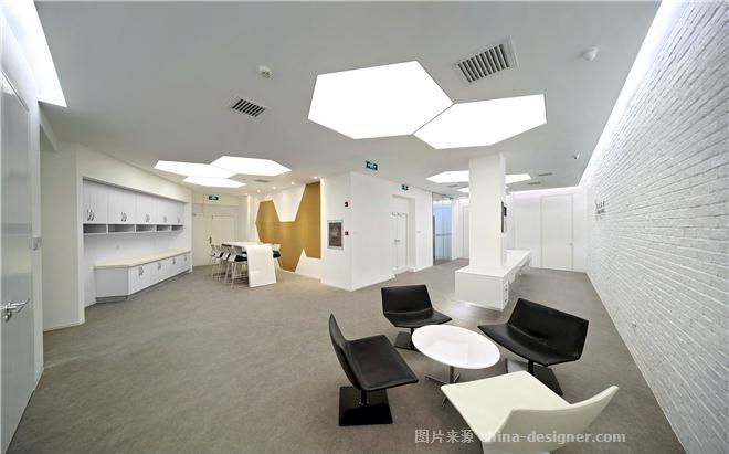 北京基美文化传媒有限公司办公室装修设计-刘浩宇的设计师家园-休闲区