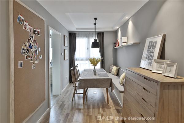 MUJI-张鹤龄的设计师家园-两居,简约大气,闲静轻松,棕色,灰色,白色,日式,北欧式,小户型