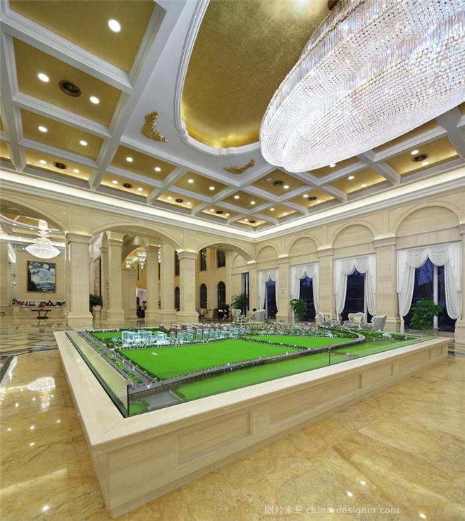 筑友・双河湾营销中心-邓鑫的设计师家园-售楼处,法式,简约大气,沉稳庄重,奢华高贵,其他颜色,黄色,白色