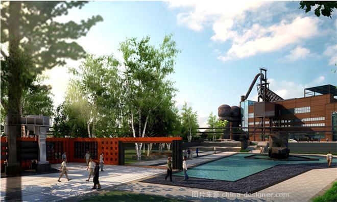 周绿景观设计有限公司的设计师家园-展览馆,其他风格,其他气氛,工业化