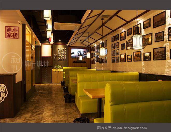 青岛-渔家小楼鱼水饺(实景)-闫进伟的设计师家园-请选择,中餐厅/中餐馆,50-100元
