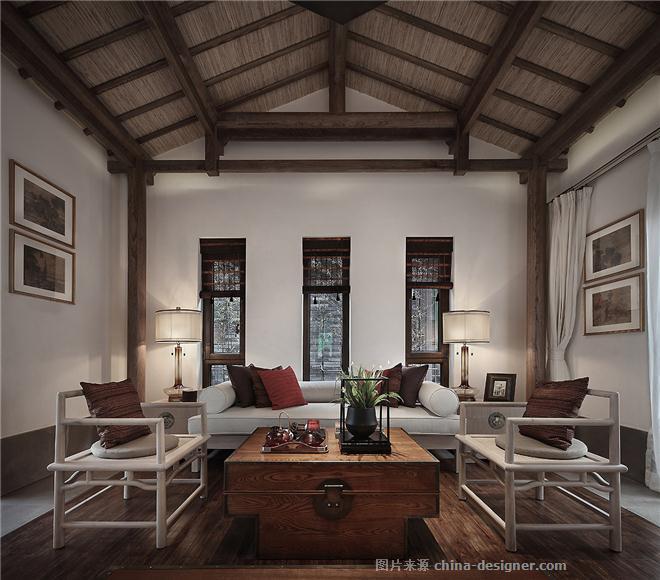 中式别墅-武文的设计师家园-独栋别墅