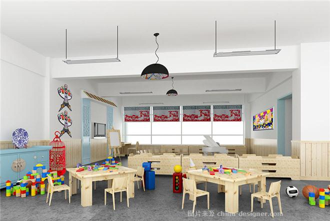 幼儿园中式教室图片