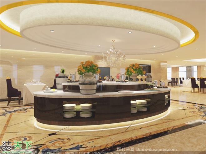 兴旺大厦餐厅-张益鸣的设计师家园-中餐厅,现代简约,闲静轻松