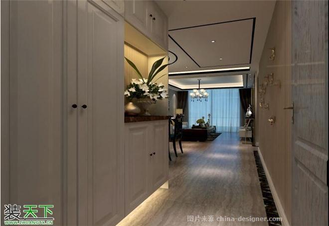 阳光丽景-张益鸣的设计师家园-三居,现代简约,沉稳庄重