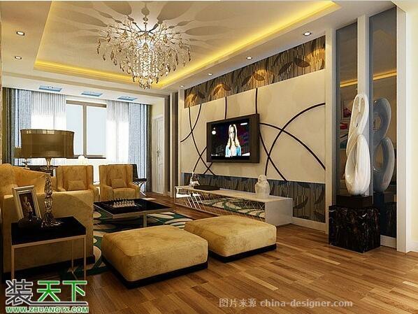 家装设计-张益鸣的设计师家园-三居,现代简约,闲静轻松