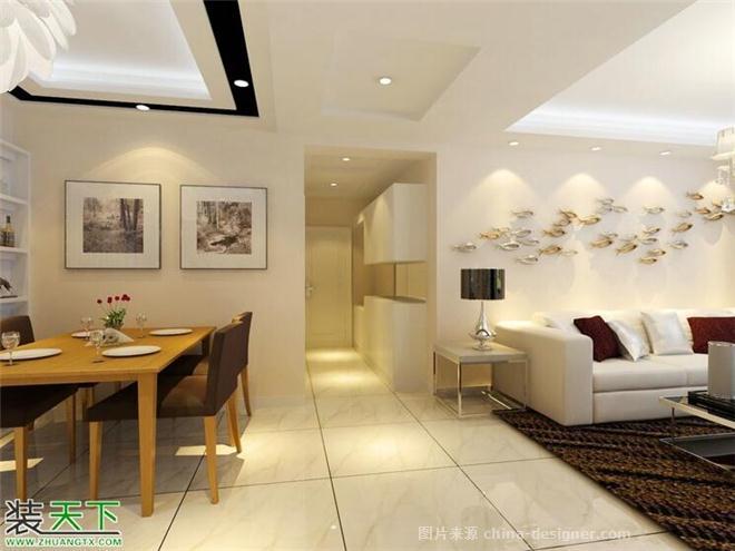 青藏花园-张益鸣的设计师家园-三居,现代简约,闲静轻松