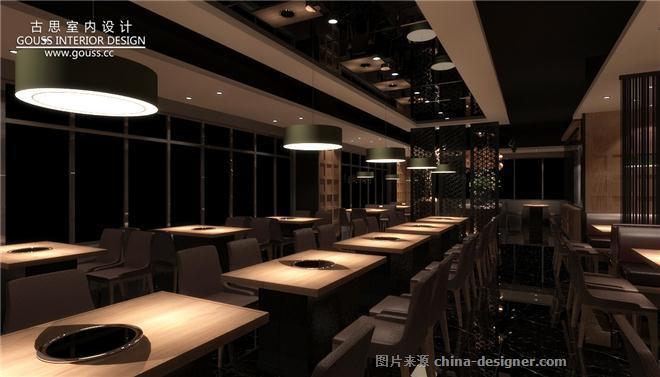 火锅店设计/上海火元甲餐厅设计-安志远的设计师家园-主题餐厅,创意菜
