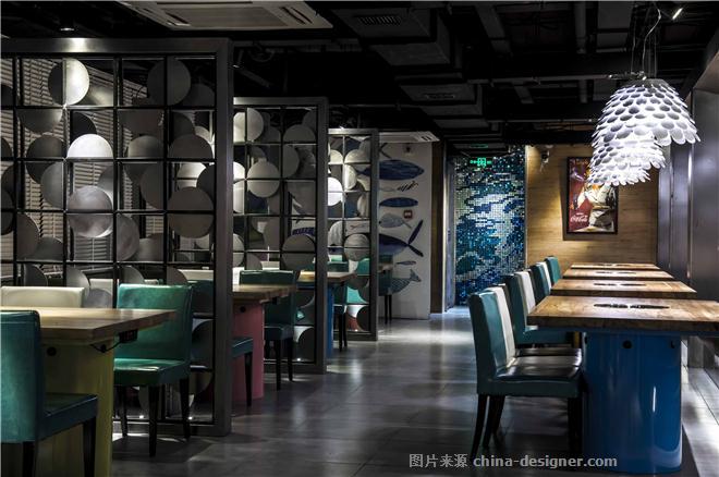 纯味斑鱼府-江蕲珈的设计师家园-火锅店,主题餐厅,其他风格,工业化,闲静轻松